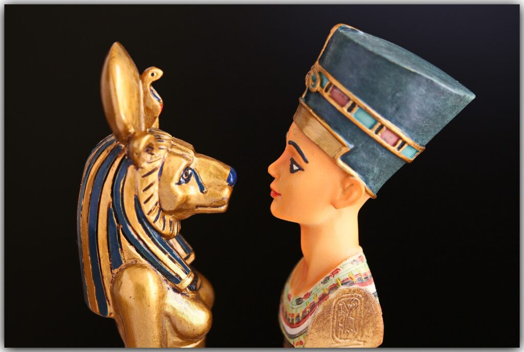 Cleopatra e Nefertiti